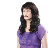 Damen Perücke Chiara dunkel-braun