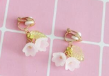 Cute Flower Drop earrings