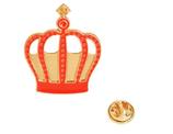 Cute Crown Brooch