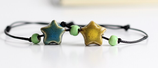 Porcelain Star Bracelet