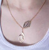 Leaf Adjustable Necklace