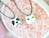 Porcelain Pet Cat And Dog Necklace