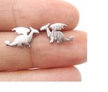 Small Dragon Stud Earrings