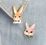 Kawaii Rabbit Brooch