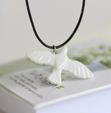 Porcelain Bird Necklace