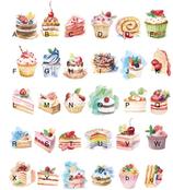 Birthday Cake Design Post Card