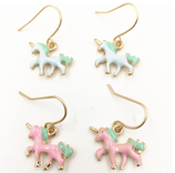 Cute Colourful Unicorn Earrings