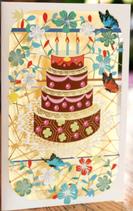 Colourful Birthday Cake Card