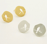 Bird On The Branch Stud Earrings