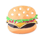 Cute Hamburger Brooch