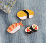 Cute Sushi Brooch