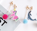 Cute Animal Ear Clip