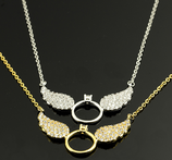 Wing Shape Necklace