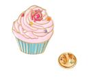 Cute Cup Cake Brooch