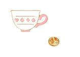 Romantic Tea Cup Brooch