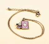 Cute Card Star Necklace