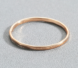 Simple Gold Circle Ring