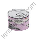 Landfleisch für Katzen - Rind mit Lamm 195g