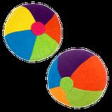 balle multicolore, Barefoot