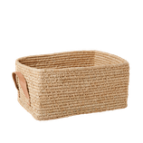Panier rectangulaire naturel, Rice