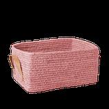 Panier rectangulaire rose, Rice