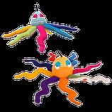pieuvre multicolore, Barefoot