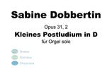 S.Dobbertin: Kleines Postludium in D