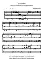 Takt für die Orgelsonate