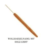 Häkelnadel mit Holzgriff