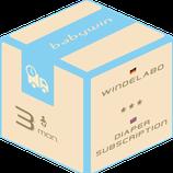 Windelabo Service von babywin.de  |  3 Monate  |  für ein Kind