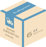 Diaper Subscription Service from babywin.de  |  6 months  |  for 2 kids or twins