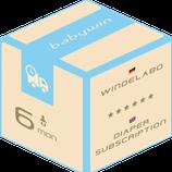 Windelabo Service von babywin.de  |  6 Monate  |  für ein Kind