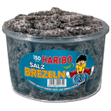 Haribo Salz Brezeln 150er Dose