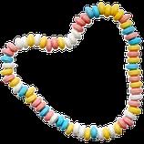 Halskette aus Traubenzucker-Komprimat