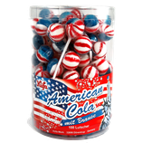 American Cola Lolly mit Brause