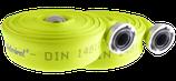 Feuerwehrschlauch Gelb nach DIN 14811 mit DIN-Storz-Druck-Kupplungen