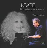 """CD pochette cartonnée Joce en Duo """"Chansons à voir !"""""""