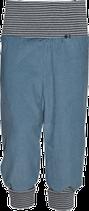 Mitwachs- Thermo-Cordhose in graublau