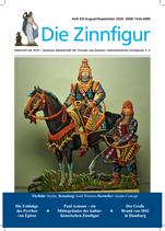 """Die Zinnfigur"" Doppelheft 8/9 August/September 2020"