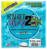 Knot to Kinky Titanium Leader 7x1 - 4.6m