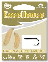 Excellence Maggot Hooks - montiert