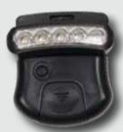 Paladin LED Lampe mit Hut-Clip - Kopflampe