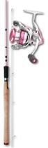 Okuma Pink Pearl Spinnangelrute + Angelrolle
