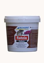 Ratzia Ratten und Mausgift 1 kg