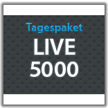 "Streaming Tagespaket ""Live 5.000"""