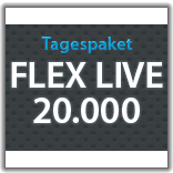 "Streaming Tagespaket ""Flex Live 20.000"""