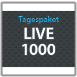 "Streaming Tagespaket ""Live 1000"""