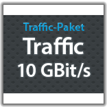 "Traffic Monatspaket ""Traffic 10 GBit/s"""