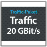 "Traffic Monatspaket ""Traffic 20 GBit/s"""