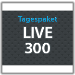 "Streaming Tagespaket ""Live 300"""